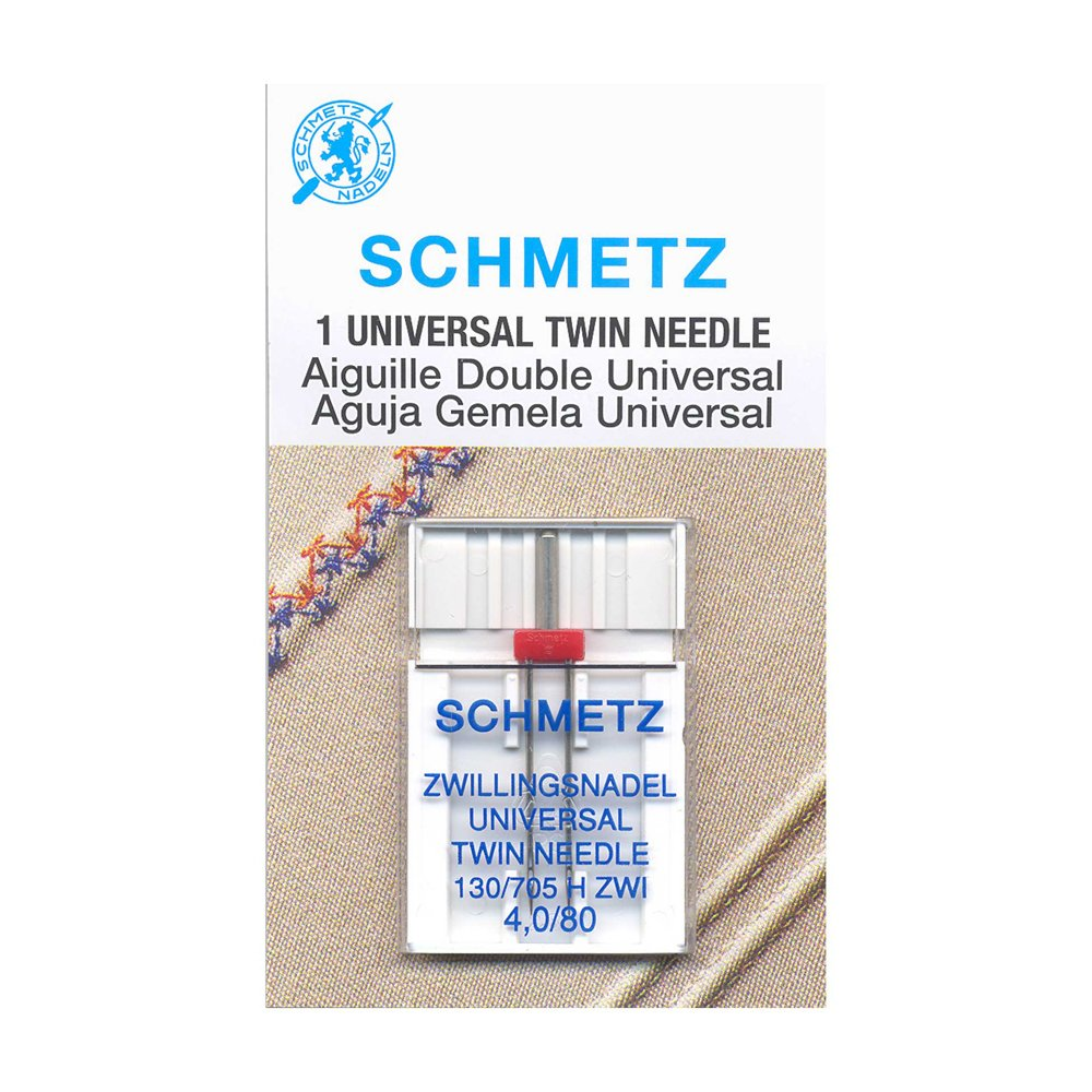 SCHMETZ #1794 Twin Needle Carded - 80/12 - 4.0mm - 1 count
