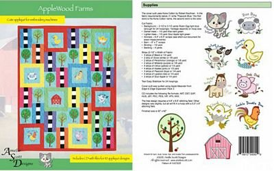Applewood Farms Applique Embroidery