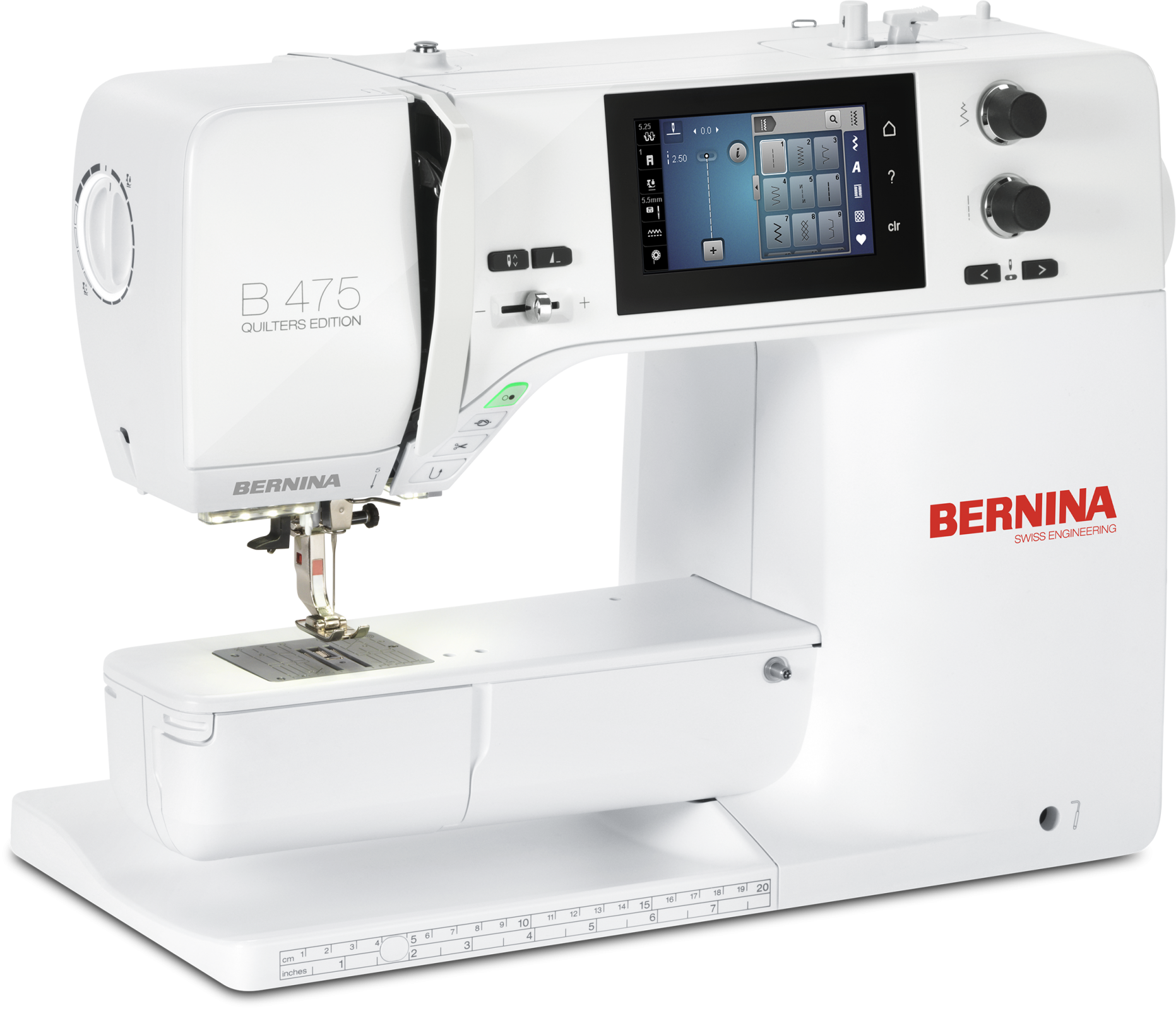Bernina B475QE Sewing Machine