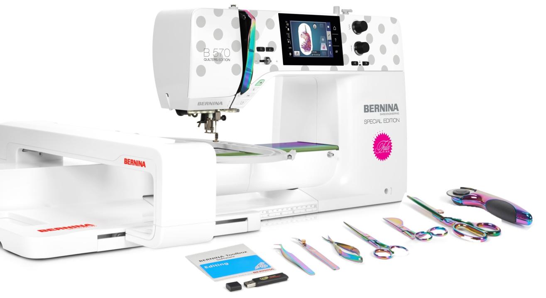 Bernina/Tula Pink 570QE  with Embroidery
