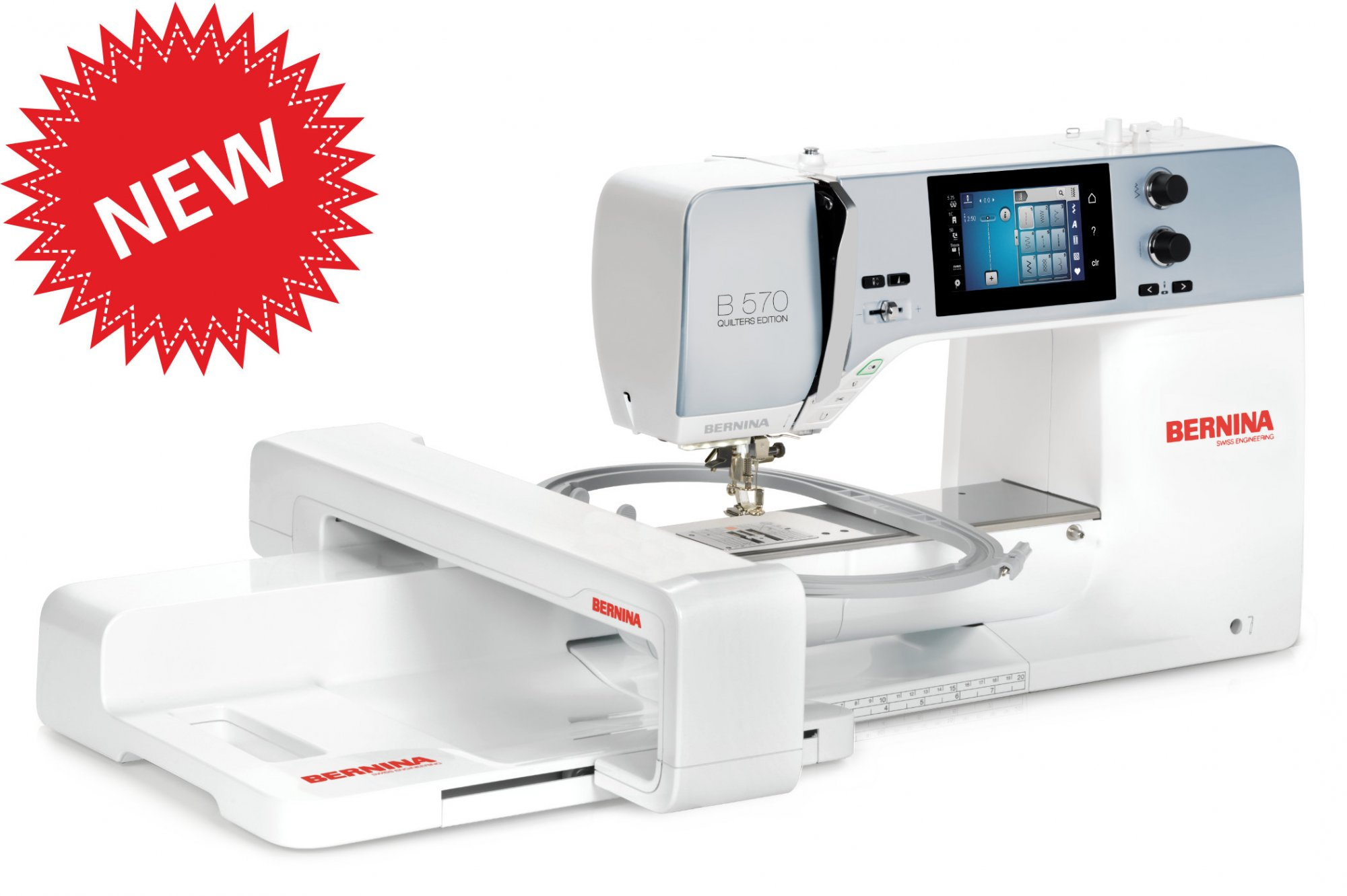 Bernina 570 Quilters Edition Sewing Embroidery Machine  NEW