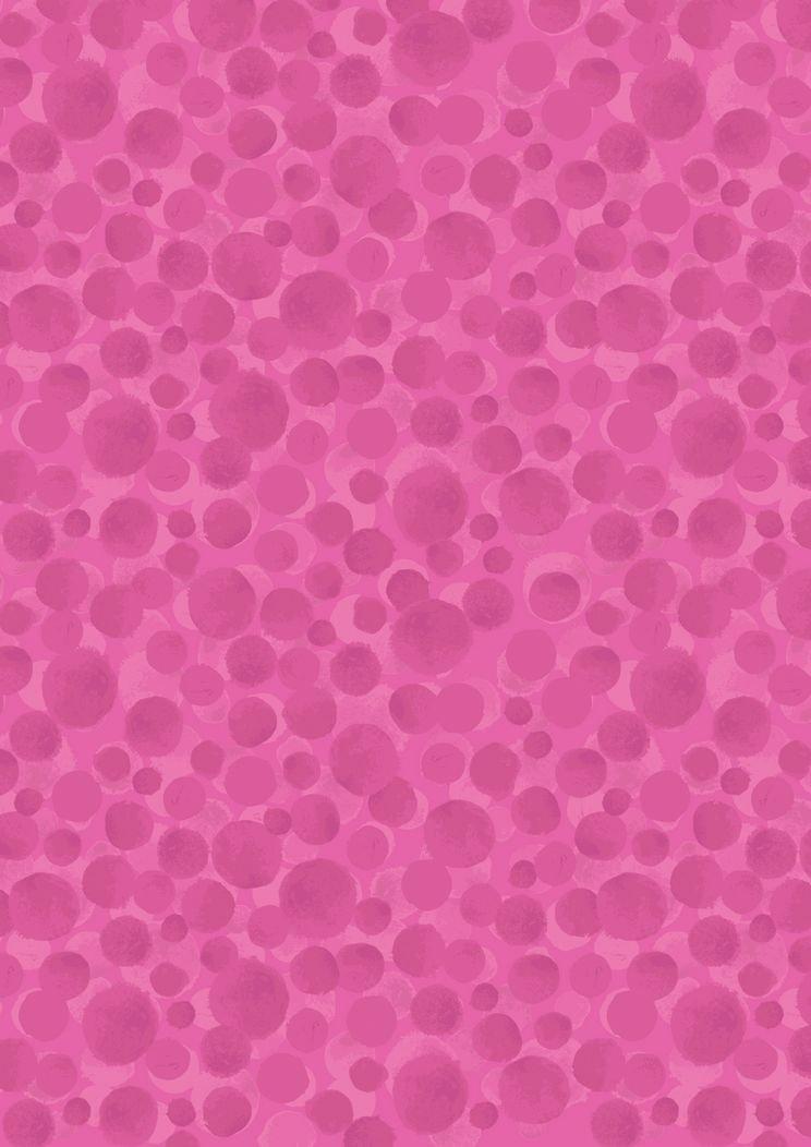 Lewis & Irene Bumbleberries Hot Pink