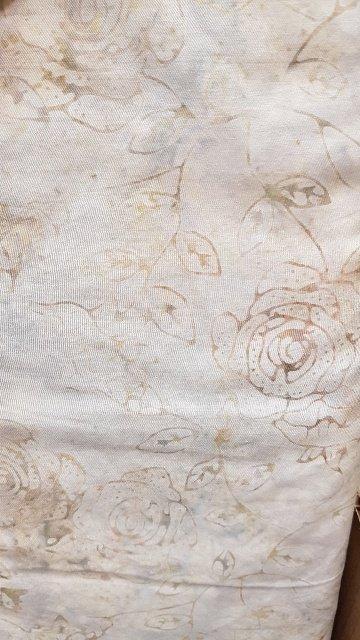 Boreal Batiks Ivory Rose
