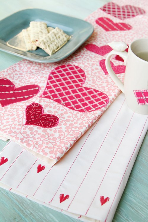 Be Mine Kitchen Towels (download)