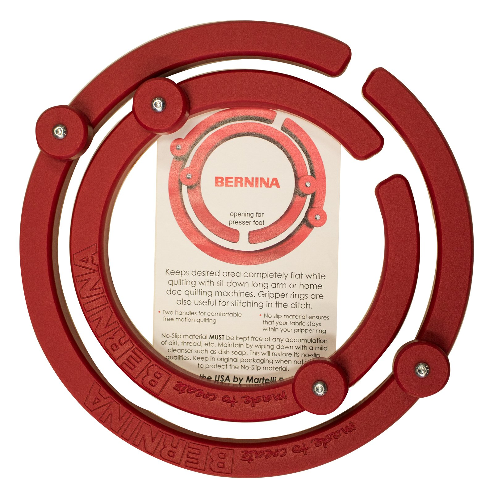 Bernina Gripper Rings Set of 2  8 and 11