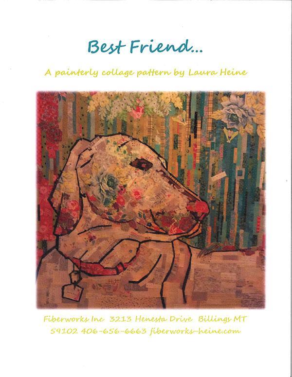Best Friend Dog Collage Pattern