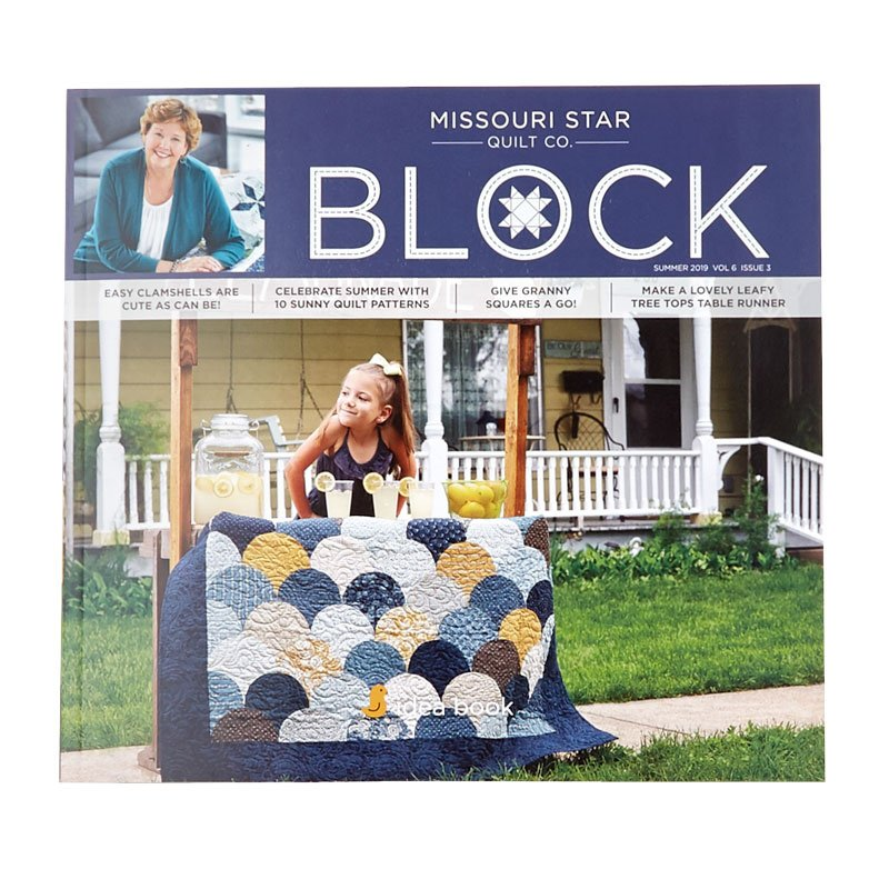 Missouri Star BLOCK Magazine 2019 Vol 6 Issue 3