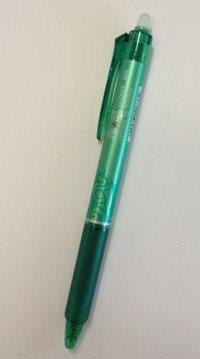 Green Frixion Pen