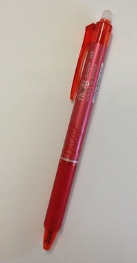 Red Frixion Pen