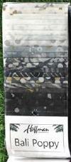 Bali Poppy Noir (20 x 2.5 strips)