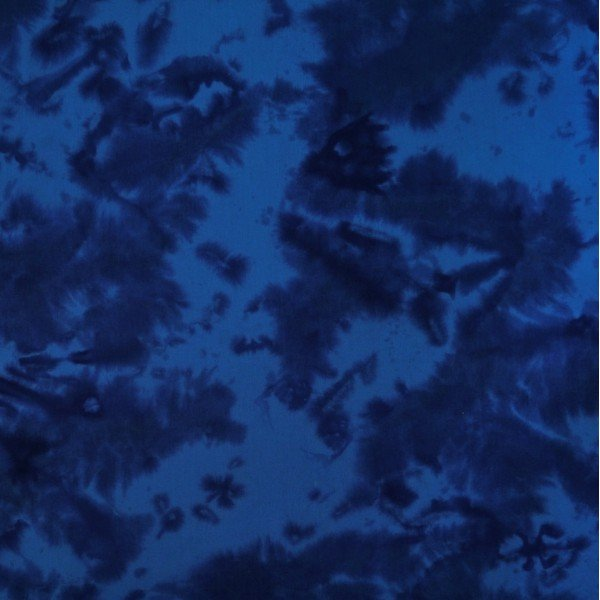 Blue Tableau Batik - Turkana  Dark Blue