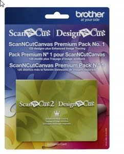Scan N Cut Canvas Premium Pack No. 1