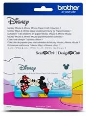 Disney Mickey and Minnie Mouse Pattern Collection 1