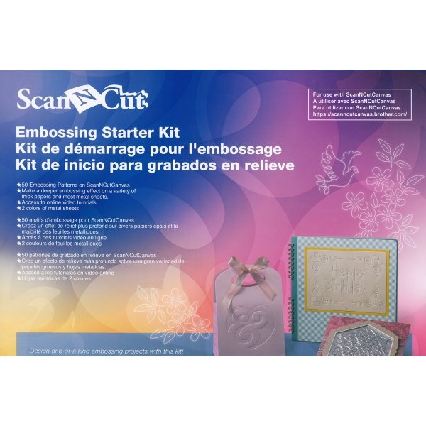ScanNCut embossing kit