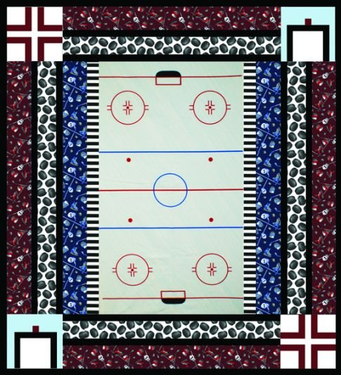 Playing Hockey Pattern (download)