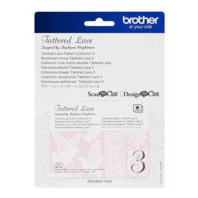 Brother Tattered Lace Pattern Collection 3