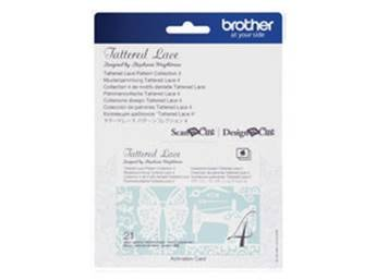 Brother Tattered Lace Pattern Collection 4