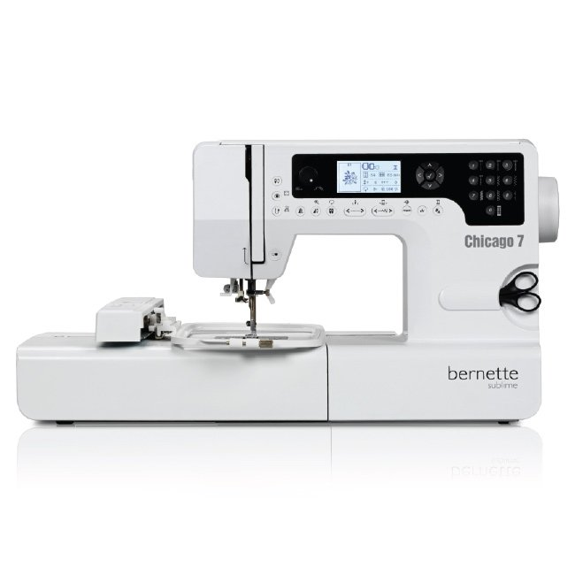 Bernette Chicago 7 Sewing Embroidery Machine