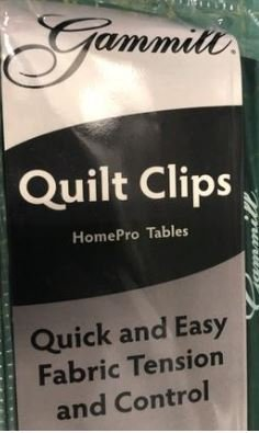 Gammill - Quilt Clips - Small - Home Pro Table
