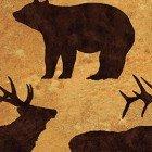 Elk Mountain Gold/Black Clothworks