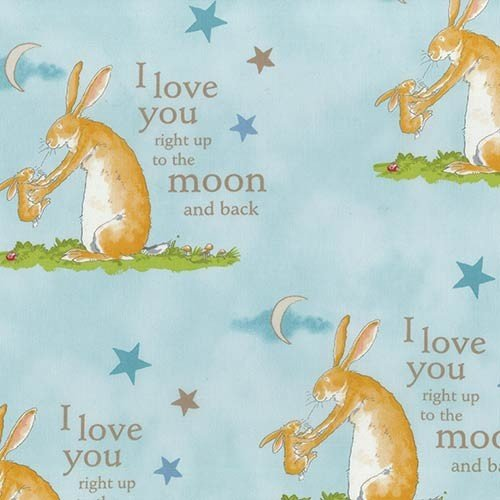Guess How Much I Love You III by Anita Jeram Light Aqua