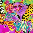 MYTHICAL JUNGLE BY LAUREL BURCH PACKED ANIMALS