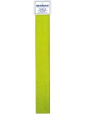 Add a Quarter 18 Ruler 1/4 Lip Yellow
