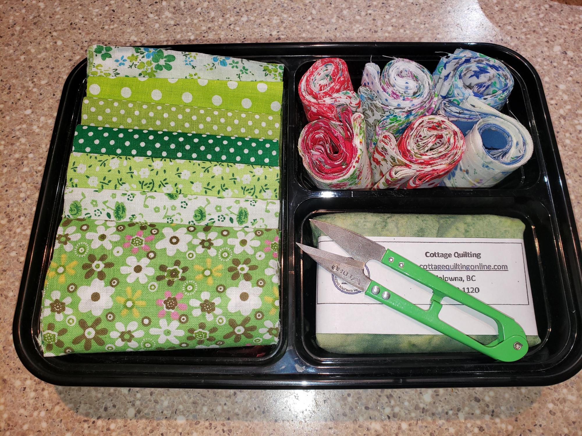 CQ Bento Box of Fabric