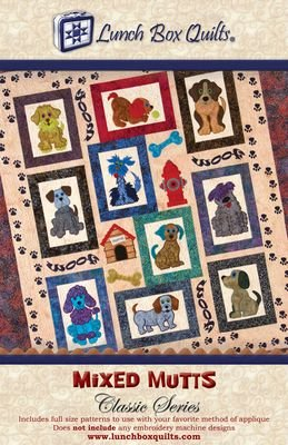 Mixed Mutts - APPLIQUE Only Pattern