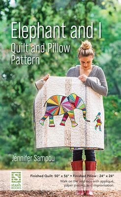 Elephant & I Quilt & Pillow