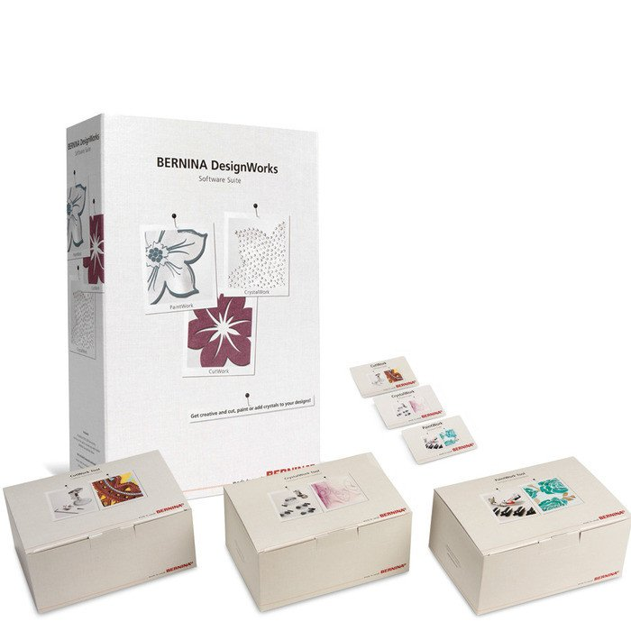 Bernina Design Works-Deluxe Suite