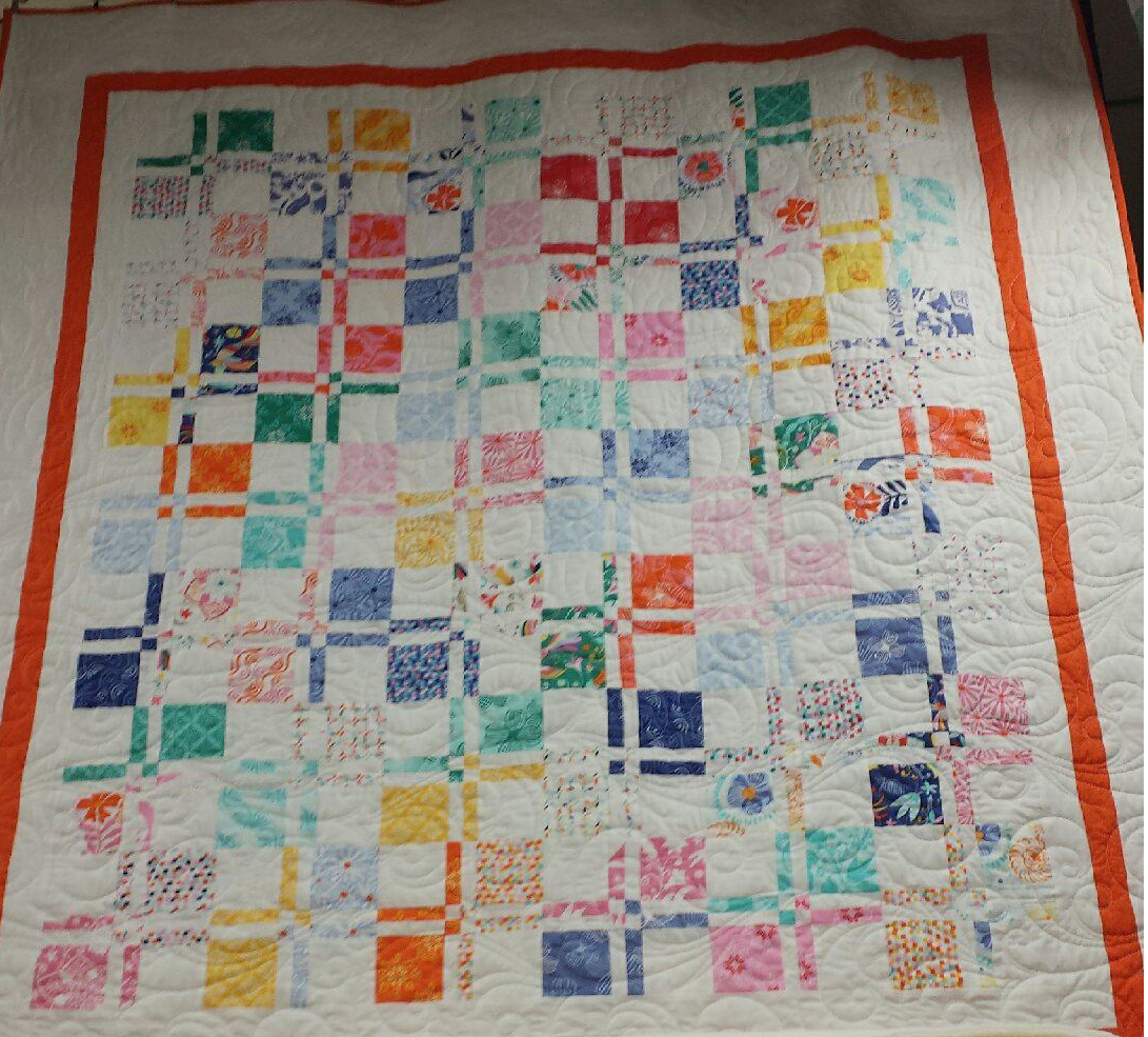 Disappearing 4 Patch Quilt Pattern (download)