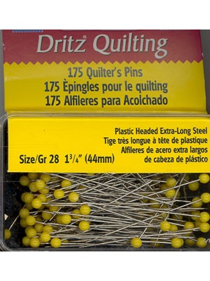175 Quilter's Pins