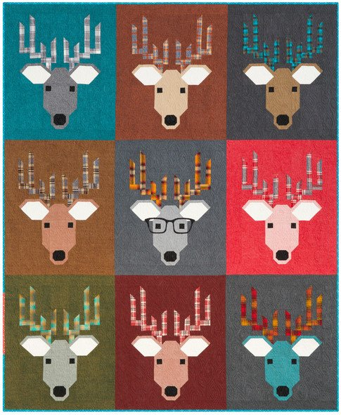 Dwight the Deer Flannel Kit