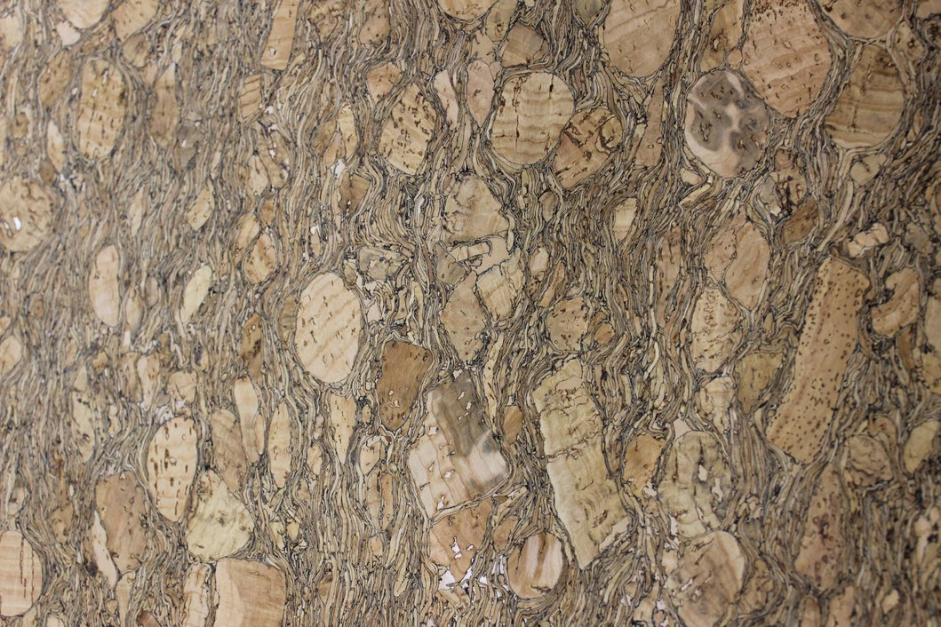 Emerald Root Cork Fabric (18x18)