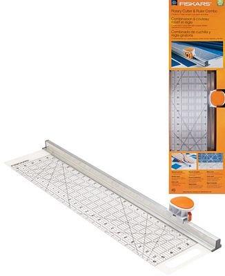 Fiskars 6x24 Rotary Ruler Combo