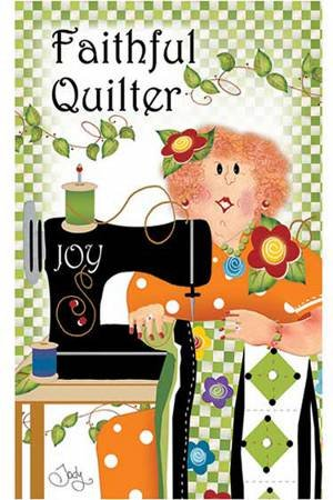 Faithful Quilter Magnet
