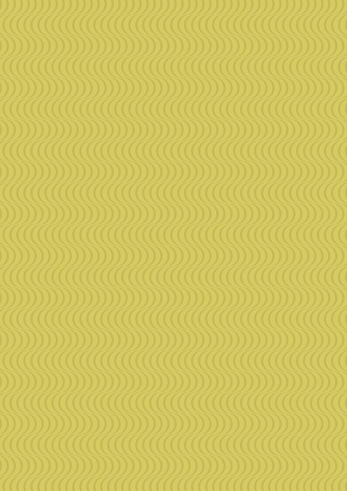 Lewis & Irene Geometrix - Green with Scallops - GX3.2