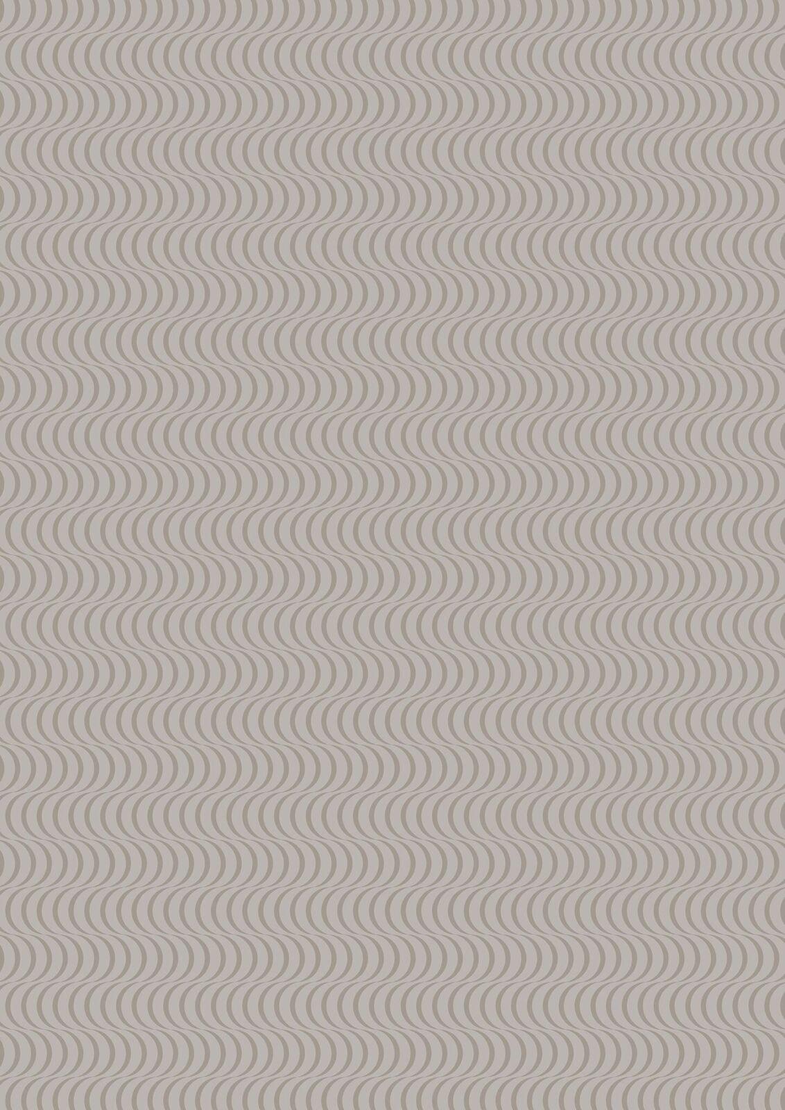 Lewis & Irene Geometrix - Gray with Scallops - GX3.3