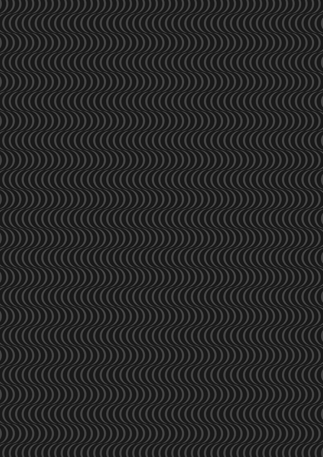 Lewis & Irene Geometrix - Black/Grey with Scallops - GX3.5
