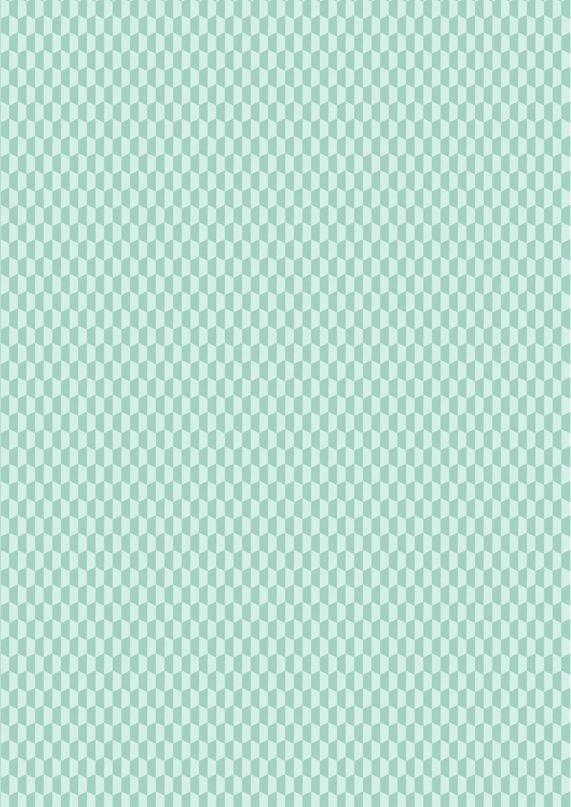 Lewis & Irene Geometrix - Teal Hex- GX4.2