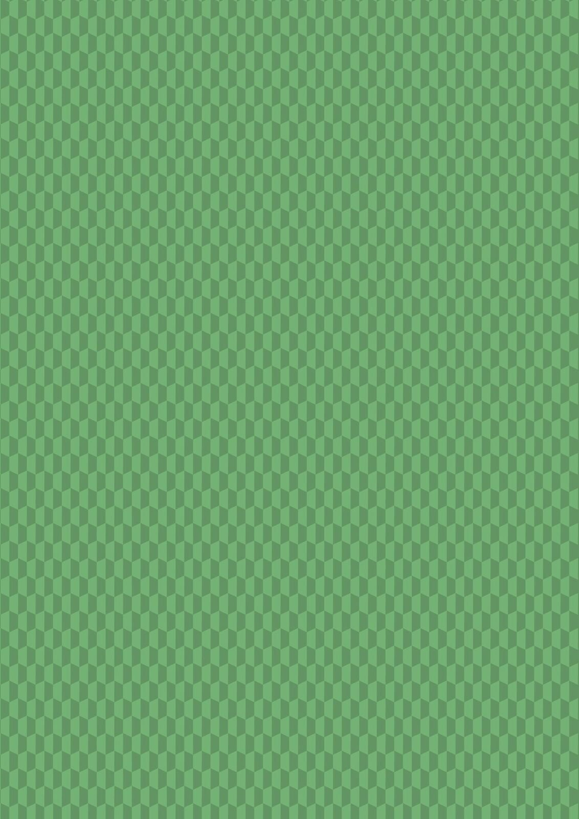 Lewis & Irene Geometrix - Green Hex- GX4.3