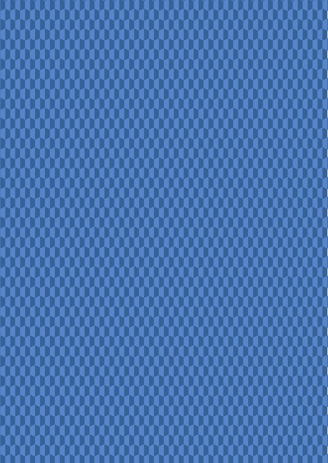 Lewis & Irene Geometrix - Blue Hex- GX4.4