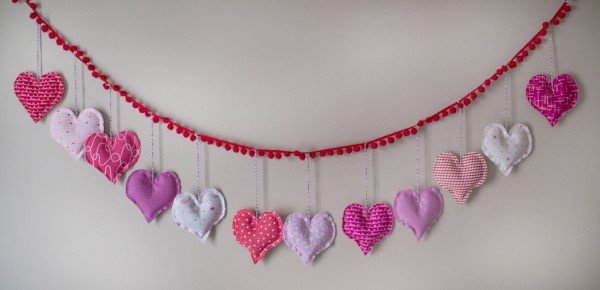 Heart Bunting Tutorial (download)