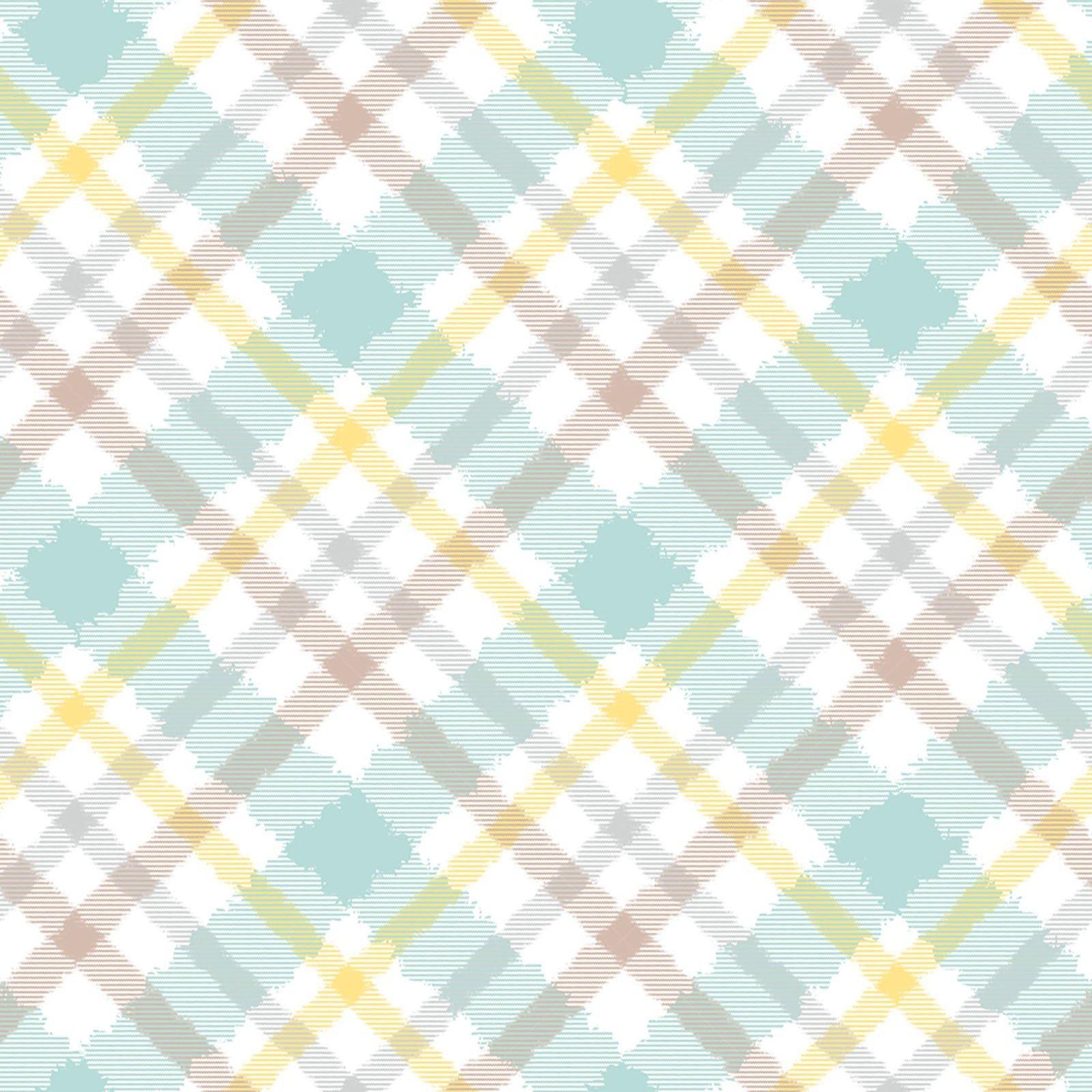 Shelly Comiskey - Fluffy Bunny Flannel - Multi Plaid