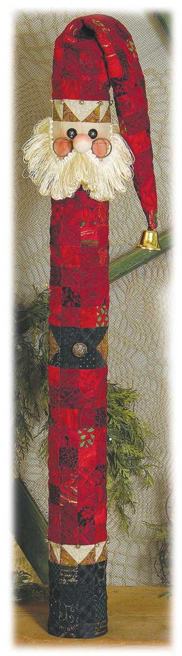 Stick Santa Pattern