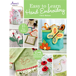 Easy to Learn Hand Embroidery Book