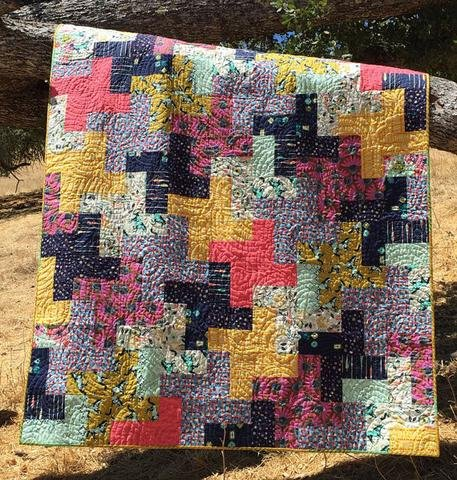 Heat Wave Quilt Pattern (download)