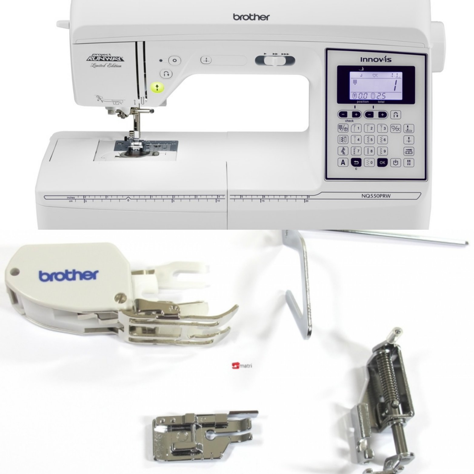 Brother NQ550 Sewing Machine w/Quilt kit