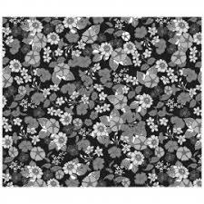 Garden Delights Floral Black